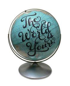 Wendy Gold makes amazing art globes