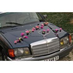 dcoration voiture mariage httpbouquet de la mariee - Decoration Voiture Mariage Ventouse