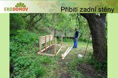 KOMPOSTUJ.CZ: Návod na stavbu tříkomorového dřevěného kompostéru