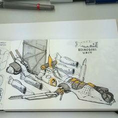 ArtStation - Sketch Dump , Sheng Lam