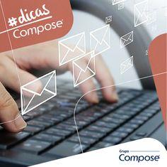 Você sabe como deve ser um email corporativo? No #DicaComposé de hoje, listamos 10 dicas lá no blog. Dá uma olhadinha http://www.compose.com.br/post-comportamento.php?id=37