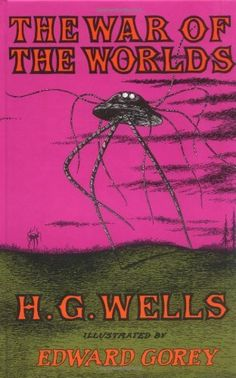 The War of the Worlds by H.G. Wells, http://www.amazon.com/dp/1590171586/ref=cm_sw_r_pi_dp_Ao31qb1P1WJBT
