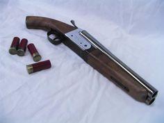 9 layer double barrel shotgun model?!
