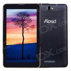 "AVOSD S3 7"" TFT Dual-Core Android 3G Phone Tablet PC w/ Wi-Fi / 8GB ROM / GPS - Black (US Plug) Price: $76.59"