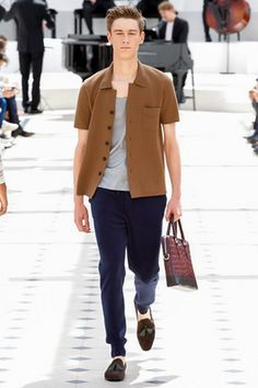 Burberry Prorsum Spring 2016 Menswear Fashion Show: Complete Collection - Style.com