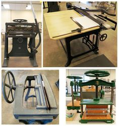 Some heavy-duty equipment from the Smithsonian Libraries Book Conservation Lab.