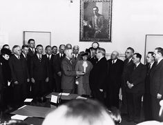 """""""Harry S. Truman was sworn in as President of the United States after FDR's death 70 years ago tomorrow: 32 President, President Roosevelt, Harry Truman, Chief Justice, American Presidents, Jfk, United States, The Unit"""