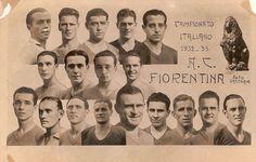 Associazione Calcio Firenze Fiorentina, Campeon de Italia  1932/33.