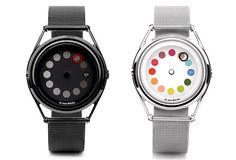 These wristwatches are pretty awesome. The black one actually might look better. $185