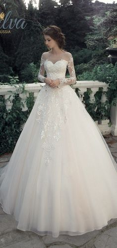 Milva Bridal Wedding Dresses 2017 Leontia / www.deerpearlflow...
