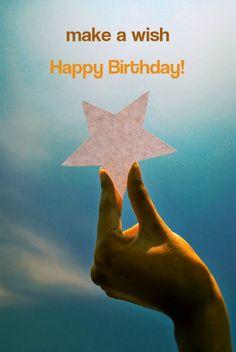 Make a wish! Happy Birthday!