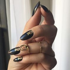 """astrowifey: """"Picture my bae @nail_swag sent me of her nails wearing the nail jewelry collaboration between @CitiesandDust and I for @LocalEclectic! We're almost all sold out so head to the..."""