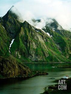 Scandinavia, Norway, Lofoten Photographic Print by W. Krecichwost at eu.art.com