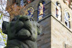 Lioness, the Animal Wall, Cardiff Castle