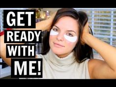 Get Ready With Me! Fresh Face & Easy Curls | Casey Holmes - YouTube