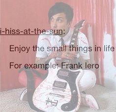 I enjoy Frank c: