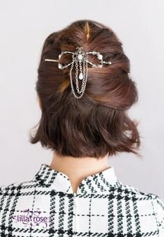 A new flexi clip called 'Arwen', making its debut for the big Lilla Rose Black Friday Sale of 2015!