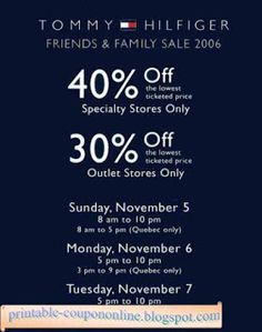 photograph relating to Tommy Hilfiger Coupon Printable known as 36 Suitable Childrens Point Discount coupons February 2018 pics