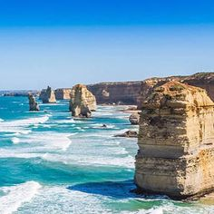 Just booked our helicopter ride around these gorgeous lovely bad ass rocks!  #plans #travels #12apostles #excited #roadtrip #greatoceanroad @ciaracroghan by rebeccagaymond