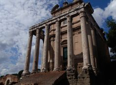 Temple of Antoninus and Faustina - Roma, Rome