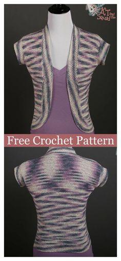 Spring Cardigan FREE Crochet Pattern