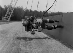 Reduced Gravity Walking Simulator    Apollo Project, NASA-LaRC Langley 1965