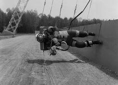 Reduced Gravity Walking Simulator    Apollo Project, NASA-LaRC Langley 1965