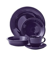 Fiesta Dinnerware Set - Plum