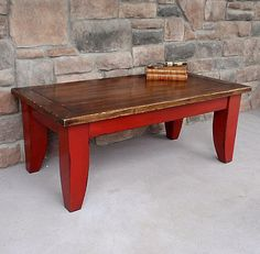 7 red coffee tables ideas red coffee