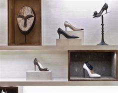 Rawlins Design Inc. Bergdorf Goodman Designer Shoe Salon Photos by Eric Laignel