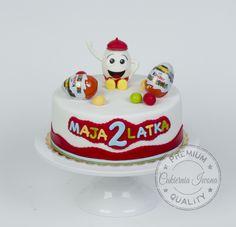 kindersuprise Birthday Cake, Desserts, Tailgate Desserts, Deserts, Birthday Cakes, Postres, Dessert, Cake Birthday, Plated Desserts