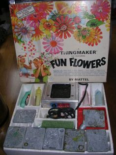 The Thingmaker Flowers. We had the Creepy Crawler also.