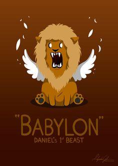 Babylon - Daniel's 1st Beast by Alex-Gil on DeviantArt