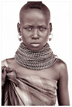 Portraits of people from Northern Kenya taken by John Kenny
