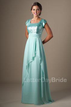 Modest Prom Dresses : Amelia