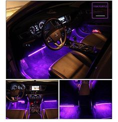 Car Interior Lights with Sound Active Function and Wireless Remote Control/App Control Car Interior Lights with Sound Active Function and Wireless Remote Con – LEMYLEM Custom Car Interior, Car Interior Decor, Truck Interior, Interior Lighting, Interior Trim, Car Interior Design, Trx, Inside Car, Volkswagen New Beetle