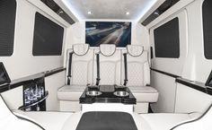 144 Executive Coach, Custom Interior Mercedes Benz Sprinter Van Conversion &…