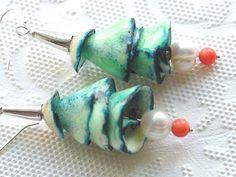 Enamel Jewelry Earrings,