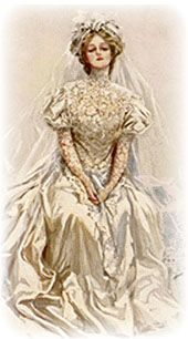 victorian era wedding dresses
