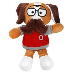 Ohio State Buckeyes Moustache Dog Plush - $7.99