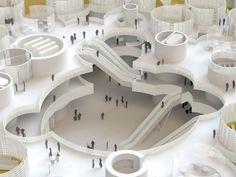 Paredes Pino Arquitectos · CAMPUS DE LA JUSTICIA. Madrid. Edificio de Juzgados de lo CIVIL · Divisare