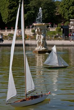boats luxembourg garden - Google Search