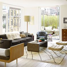 100 Transitional Living Room Decor Ideas 30