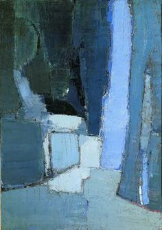 Nicolas de Staël: Parc de sceaux, 1952 - oil on canvas (Phillips Collection).