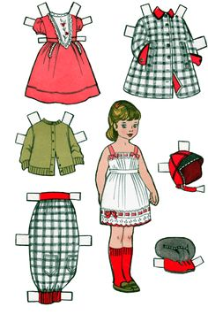 Penny and Frisky Paper Dolls