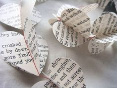 pretty hearts made from pretty quotes and love novels.