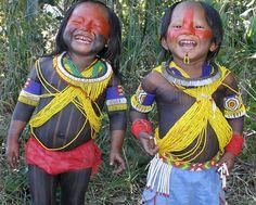 Brazil | Amazonian Indian children | © Pauliane Melo