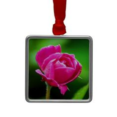 Rosy Pink Christmas Ornaments