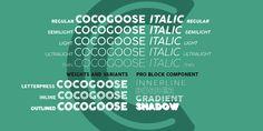 Cocogoose Pro - Webfont & Desktop font « MyFonts