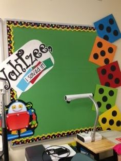 I'm teaching 3rd grade this year and decided to decorate my classroom with a board game theme. Check out the pictures of my new room.   He...